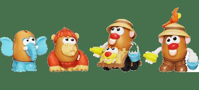 Playskool Mr. Potato Head Little Taters Big Adventures Spud Safari Set