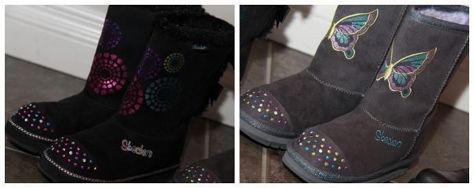 skechers fashion boots