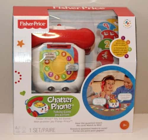 Chatter Phone Talking Game fisher-price classics