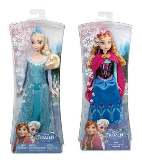 Frozen Sparkling Princess Doll