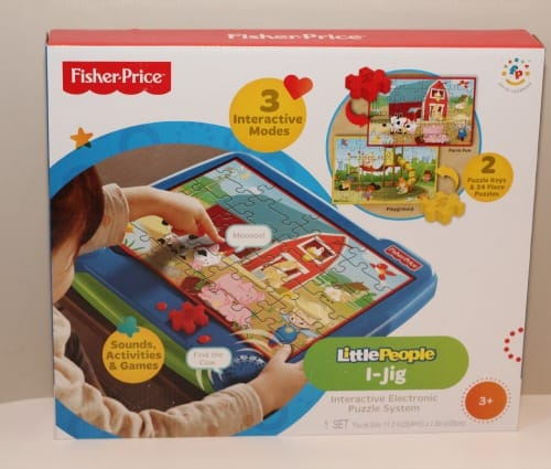I-Jig Interactive Electronic Puzzle System fisher-price classics