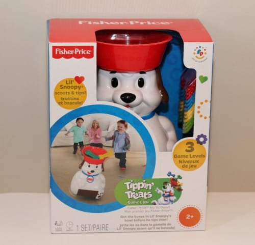 Lil' Snoopy Tippin Treats Game fisher-price classics