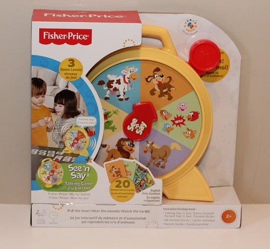 See 'n Say Talking Game fisher-price classics