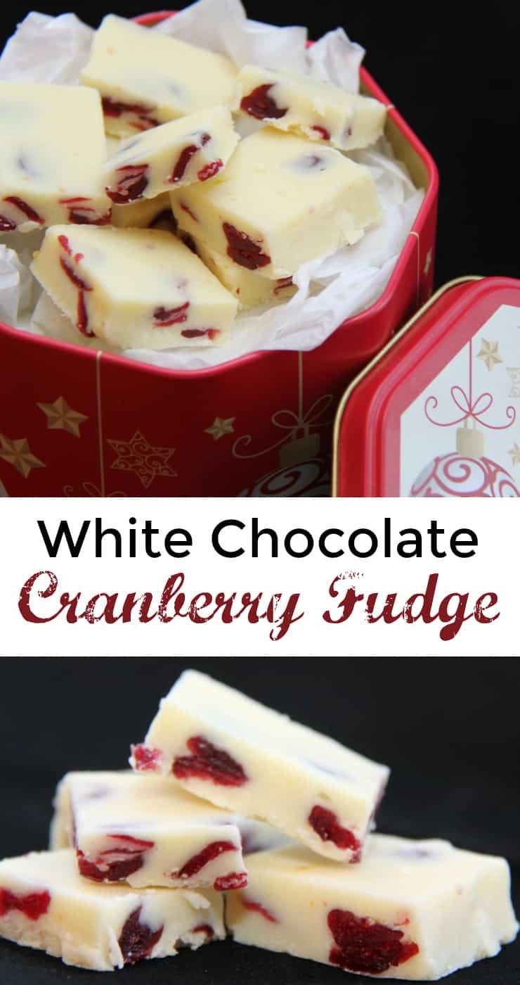 White Chocolate Fudge - My Organized Chaos