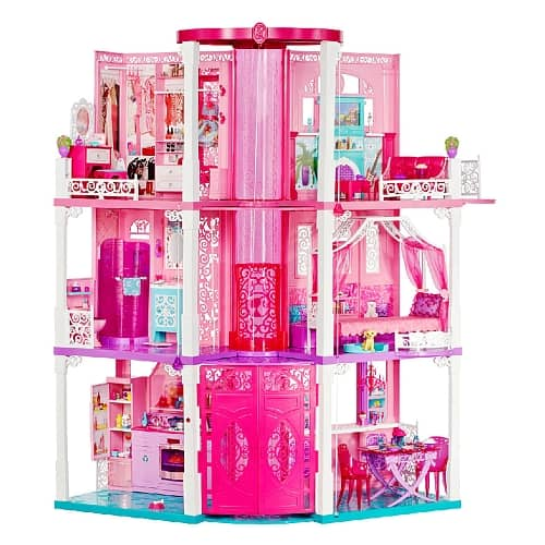 barbie dreamhouse hot holiday toy from mattel my. Black Bedroom Furniture Sets. Home Design Ideas