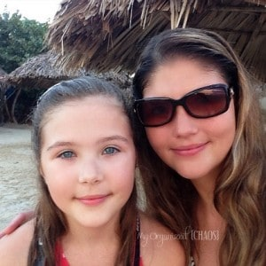 A Mother and Her Daughter at Beaches Resorts