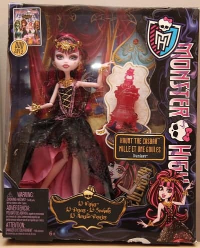 monster high 13 wishes doll review