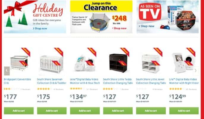 Walmart Online Shopping – Look at me go!