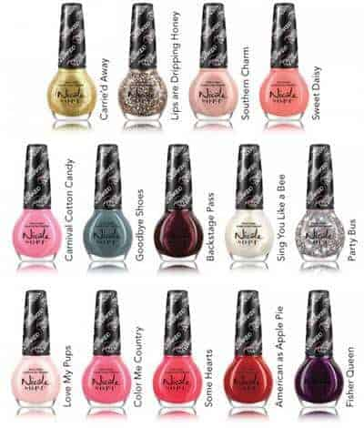 Nicole by OPI Carrie Underwood Collection Giveaway {$155 value}