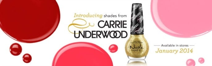 Nicole by OPI Carrie Underwood Collection review