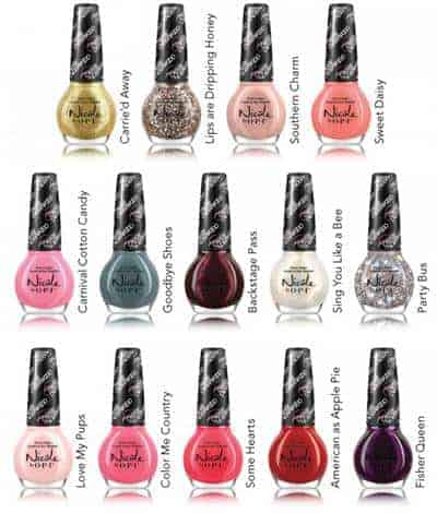 Nicole by OPI Carrie Underwood Collection