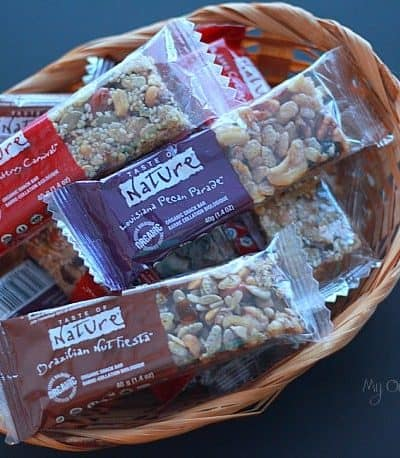 Snack Healthy with Taste of Nature Bars