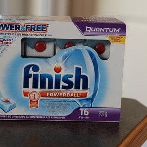New Finish Power & Free Dishwasher Tabs
