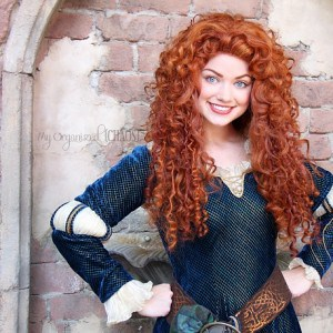 Meeting Merida at Walt Disney World