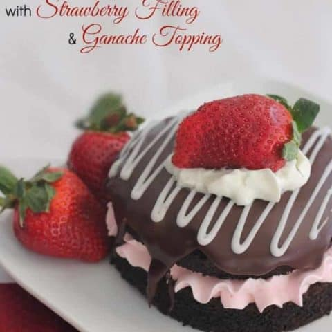 Chocolate-Cake-with-Strawberry-Filling-and-Ganache-Topping