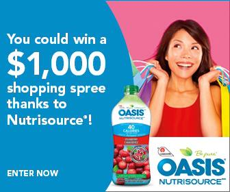 Oasis Nutrisource Contest