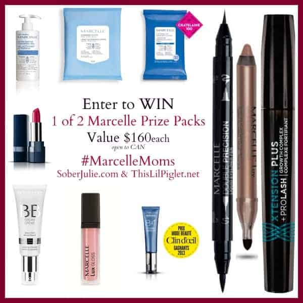 Marcelle Cosmetics and Skin Care Products #giveaway