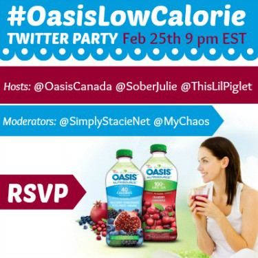 oasis twitter party
