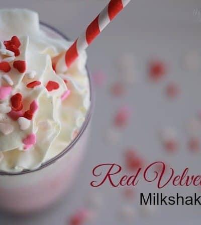 Red Velvet Cake Milkshake