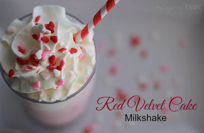Red Velvet Cake Batter Milkshakes Recipe — Dishmaps