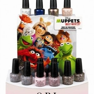 OPI Muppets Most Wanted Collection #giveaway