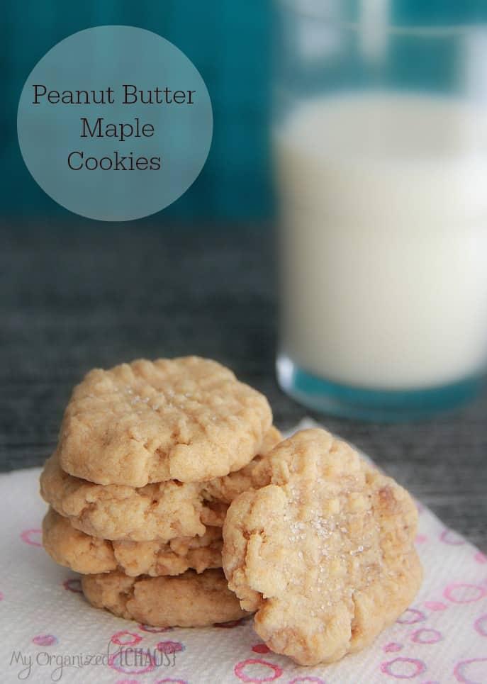 Peanut-Butter-Maple-Cookies