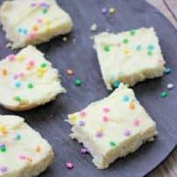Vanilla Cream Bars