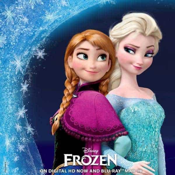 Disney's Frozen Blu-ray Combo Pack