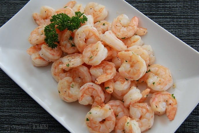 Garlic Shrimp can be served as a side, say, with steak. Mmm. Yet, I ...