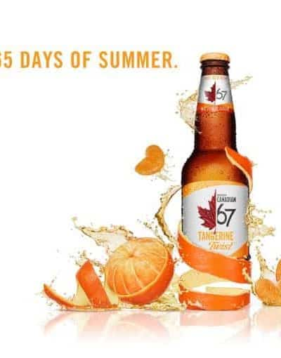 Introducing #TangerineTwist from Molson Canadian 67