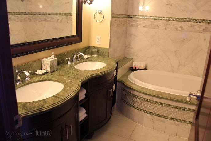 Beaches-Turks-and-Caicos-Italian-Village-Family-Suites-bathroom-travel-review