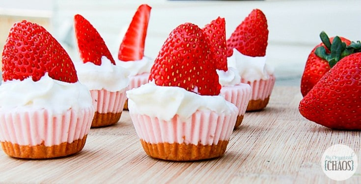strawberrry cheesecake BITES