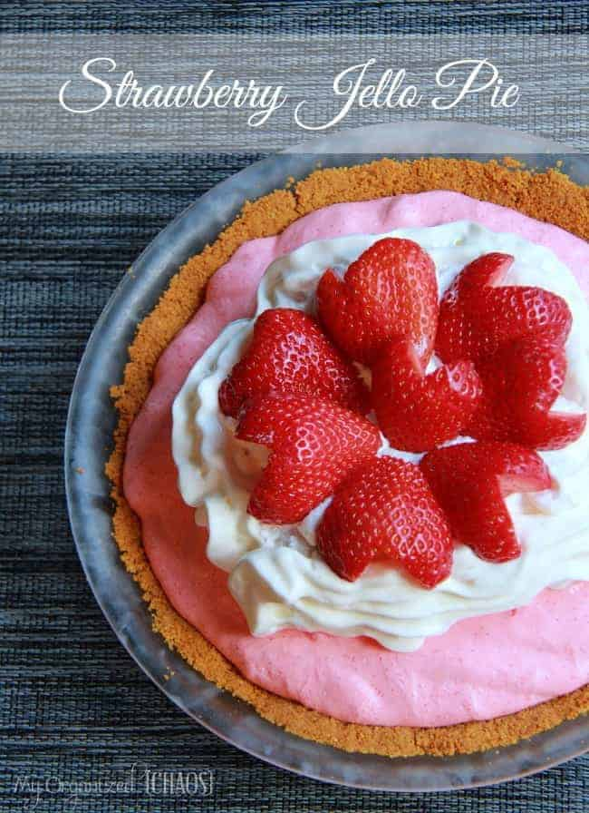 Strawberry-Jello-Pie