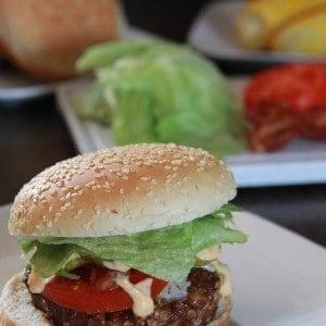 The Albertan Burger