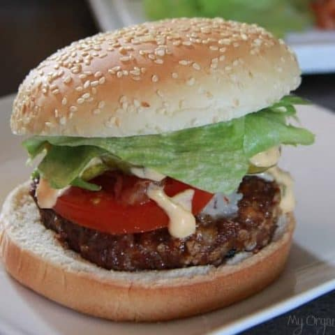 The Albertan Burger