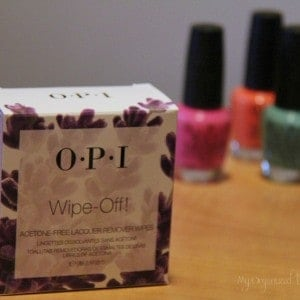 OPI Wipe-Off! Lacquer Remover Wipes {Acetone Free}