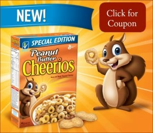 Peanut Butter Cheerios coupon canada