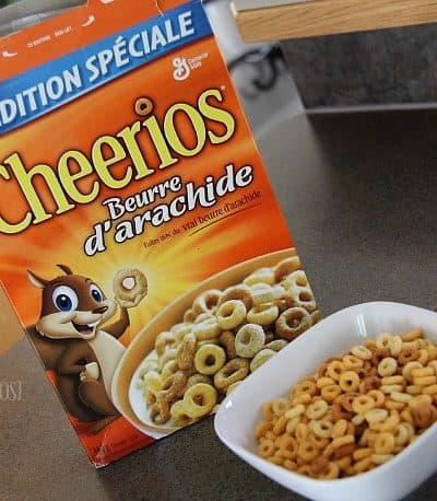 Crushing on Special Edition Peanut Butter Cheerios