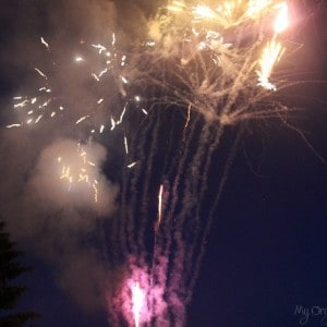 Fireworks {Kind of} Captured