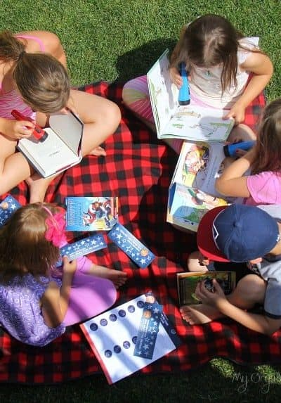 Reading Under the Stars with Scholastic