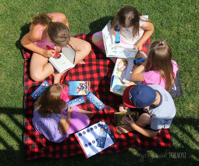 scholastic summer reading under the stars