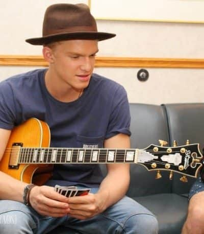 Playing UNO with Cody Simpson