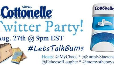 Come to the #LetsTalkBums Twitter Party!