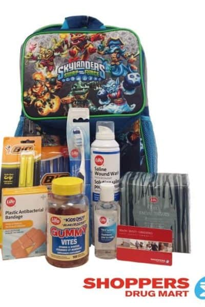 Shoppers Drug Mart Back to School Prep Kit