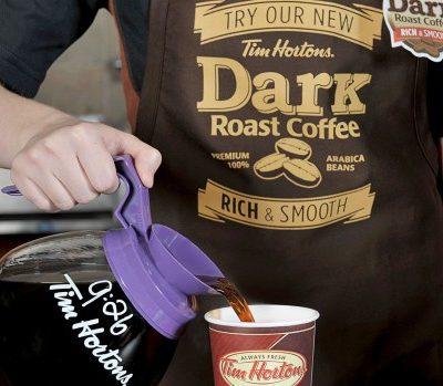 Tim Hortons Dark Roast Experience