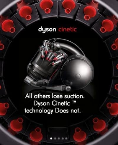 Benefits of the New Dyson Cinetic Cyclone Technology