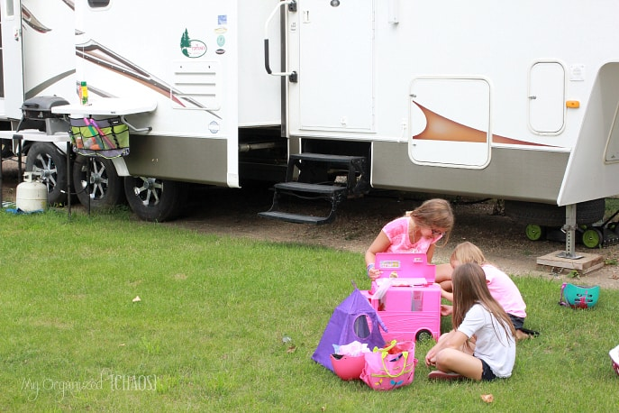 Life-Experiences-Reenacted-through-Play-Camping-BarbieProject
