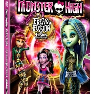 Monster High: Freaky Fusion DVD and Blu-ray Combo Pack #Giveaway