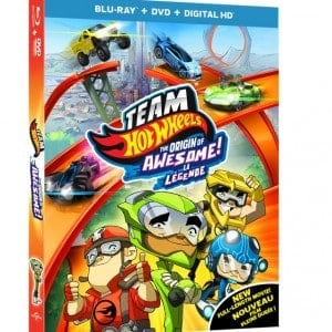 Team Hot Wheels: The Origin of Awesome DVD and Blu-ray Combo Pack