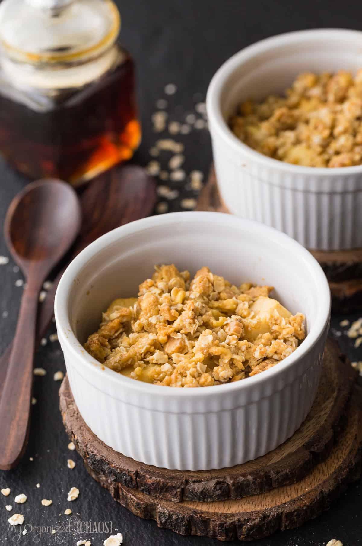 Best Ever Maple Apple Crisp Recipe